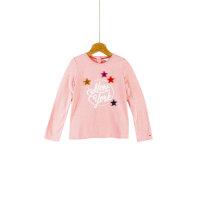 Bluzka Patched Tommy Hilfiger różowy