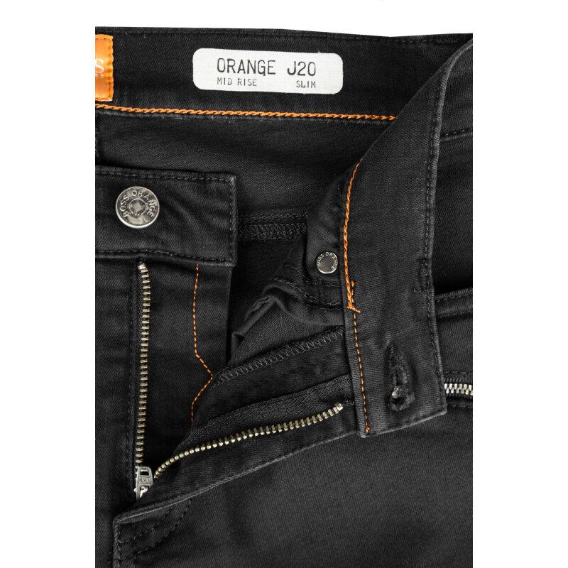 Jeansy J20 Dundee Boss Orange czarny