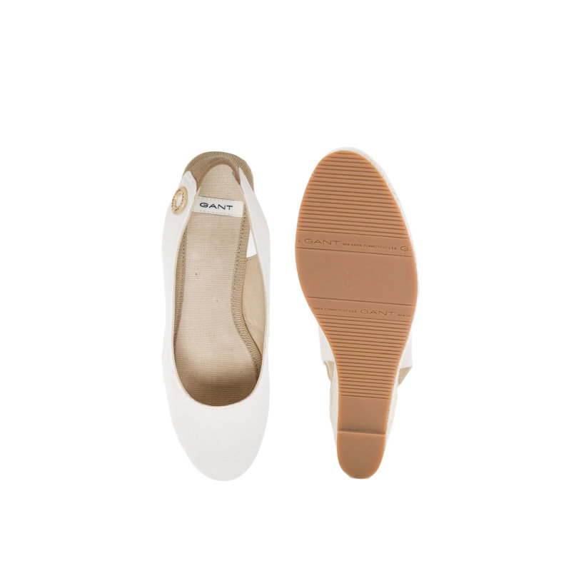 Madison wedges Gant cream