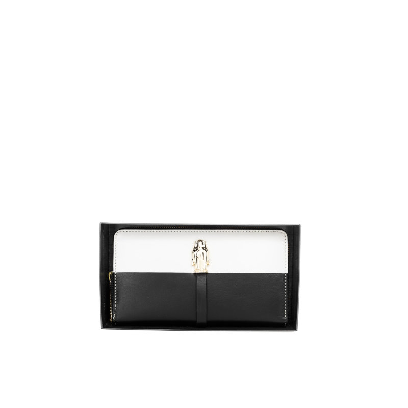 Panther wallet Cavalli Class black-and-white