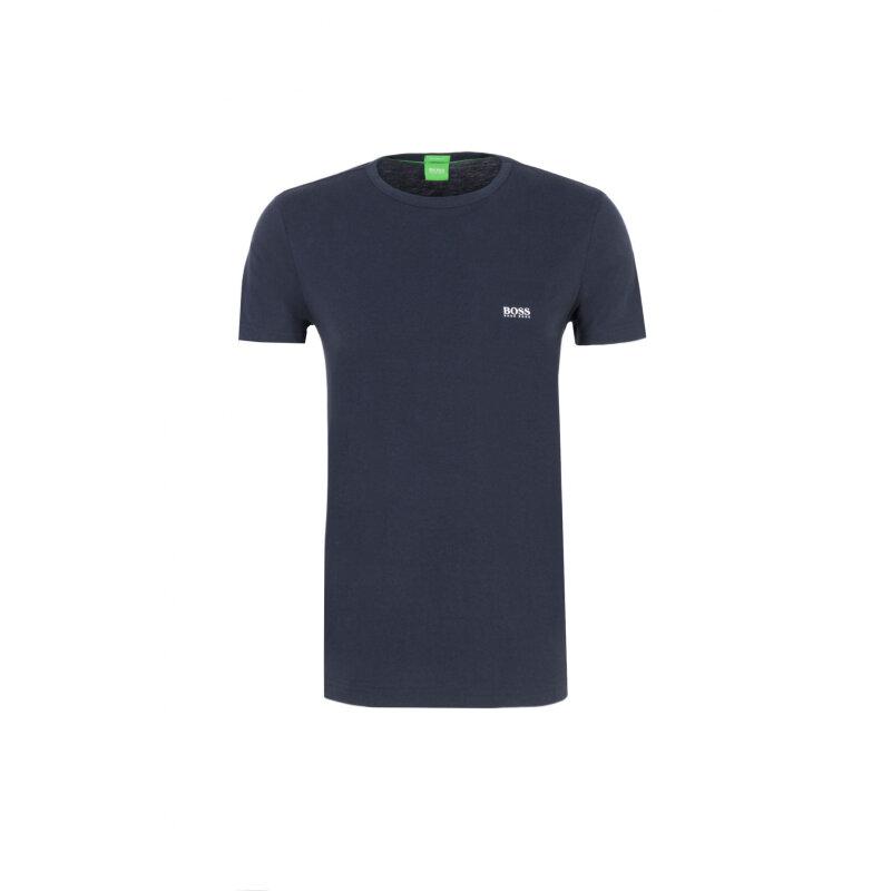 T-Shirt Tee Boss Green grafitowy