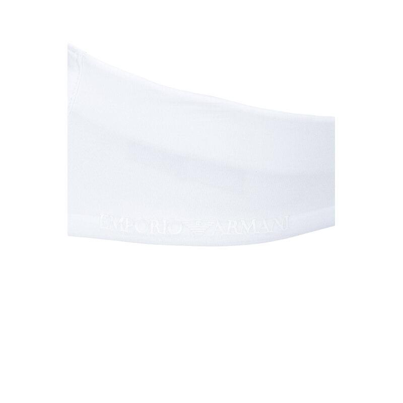 Biustonosz Emporio Armani biały