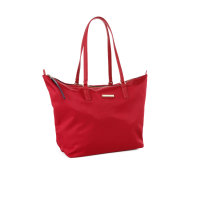 Poppy Small Shopper bag Tommy Hilfiger burgundy
