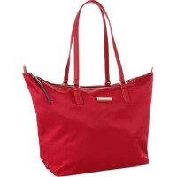 Poppy Small Shopper bag Tommy Hilfiger burgundy