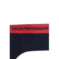 Slipy 3 pack Emporio Armani granatowy