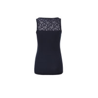 Lace Top Hilfiger Denim navy blue