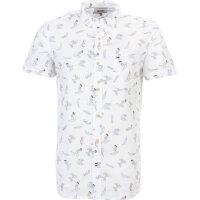 Koszula Printed Hilfiger Denim biały