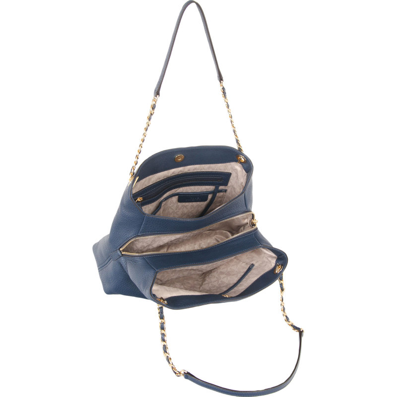 Shopperka Jet Set Chain Michael Kors granatowy
