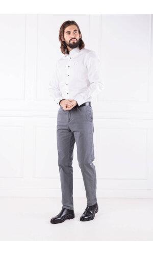 Tommy Hilfiger Tailored Spodnie PRINT MICRO CLASSIC   Regular Fit