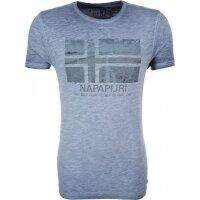 T-shirt Speris Napapijri niebieski