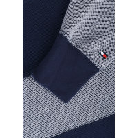 Honeycomb Polo Tommy Hilfiger navy blue