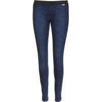 Jegginsy Guess Jeans granatowy