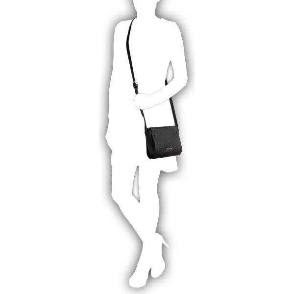 Marissa Mini Messenger Bag Calvin Klein   Black   Gomez.pl en 66d57a4e8d6