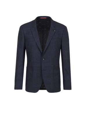 Tommy Hilfiger Tailored Wool Twisted Trad blazer