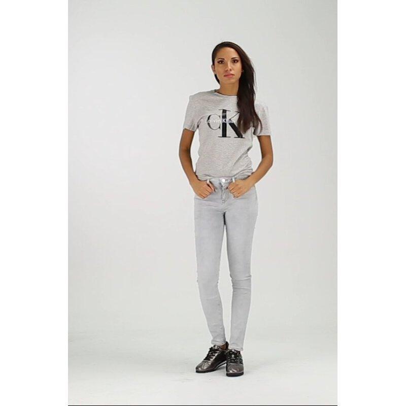 T-shirt Logo Calvin Klein Jeans popielaty