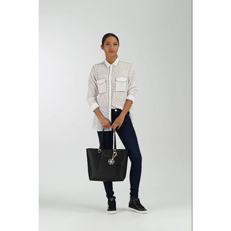 Shopperka Isabeau Guess czarny