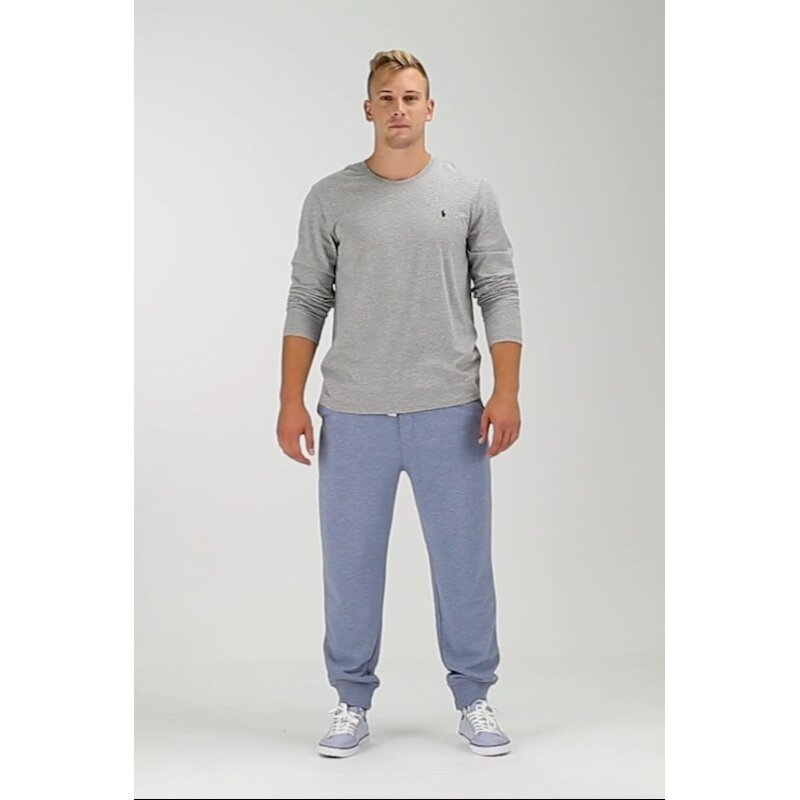 Long Sleeve/ PJ top Polo Ralph Lauren gray