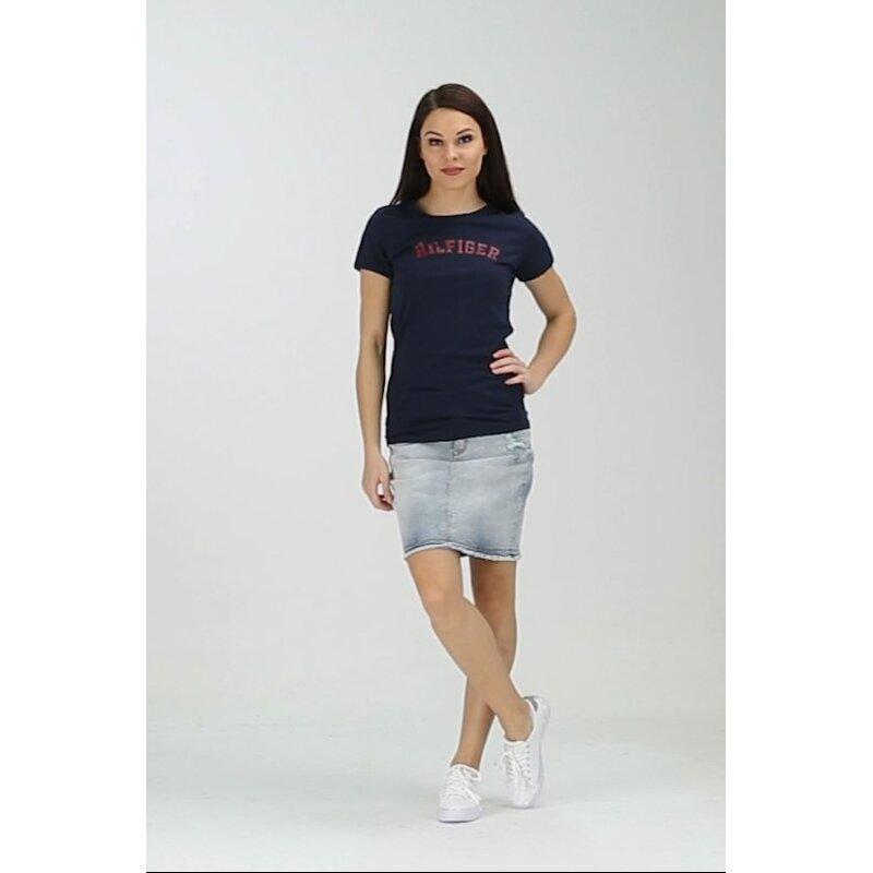 T-shirt Tee Tommy Hilfiger navy blue