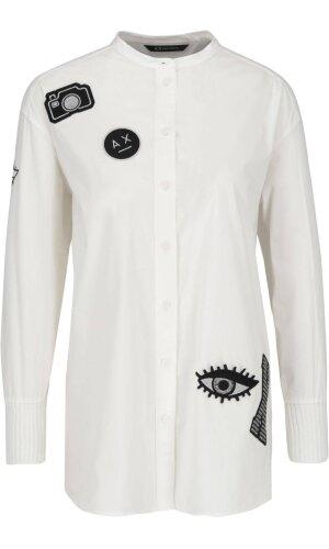 Armani Exchange Koszula   Loose fit