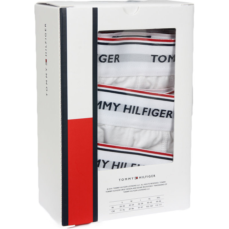 3 Pack Stretch Boxer briefs Tommy Hilfiger white