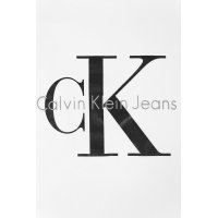 T-shirt Logo Calvin Klein Jeans biały