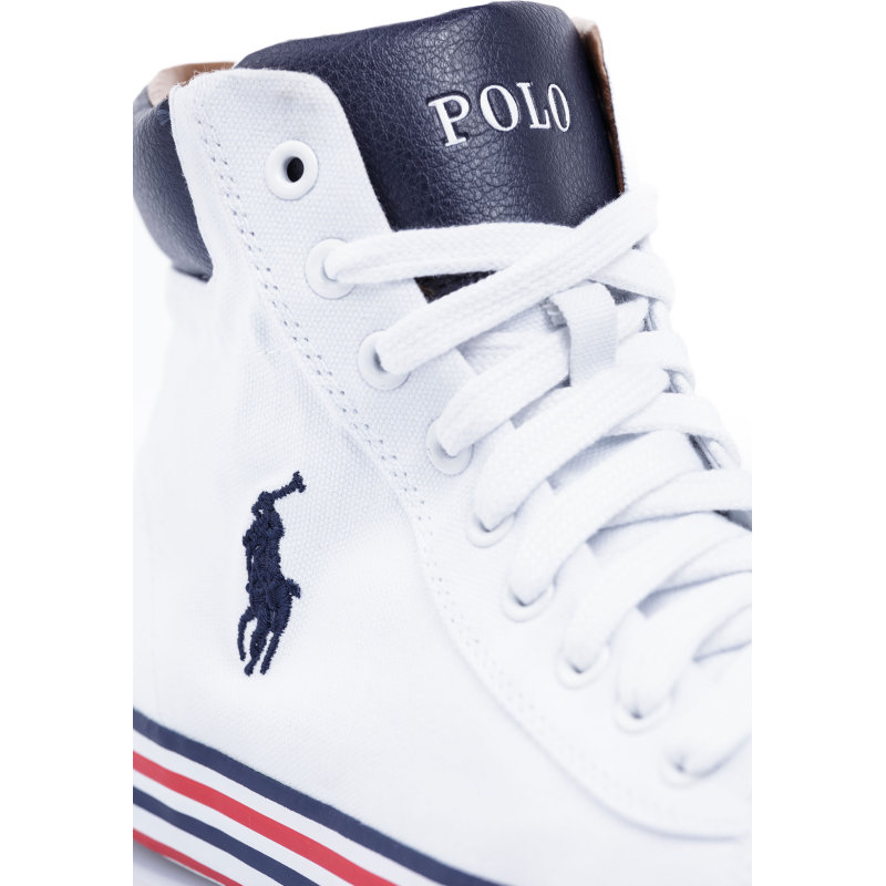Trampki Harvey Mid-Ne Polo Ralph Lauren biały