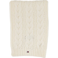 Solid Mini Scarf Tommy Hilfiger white
