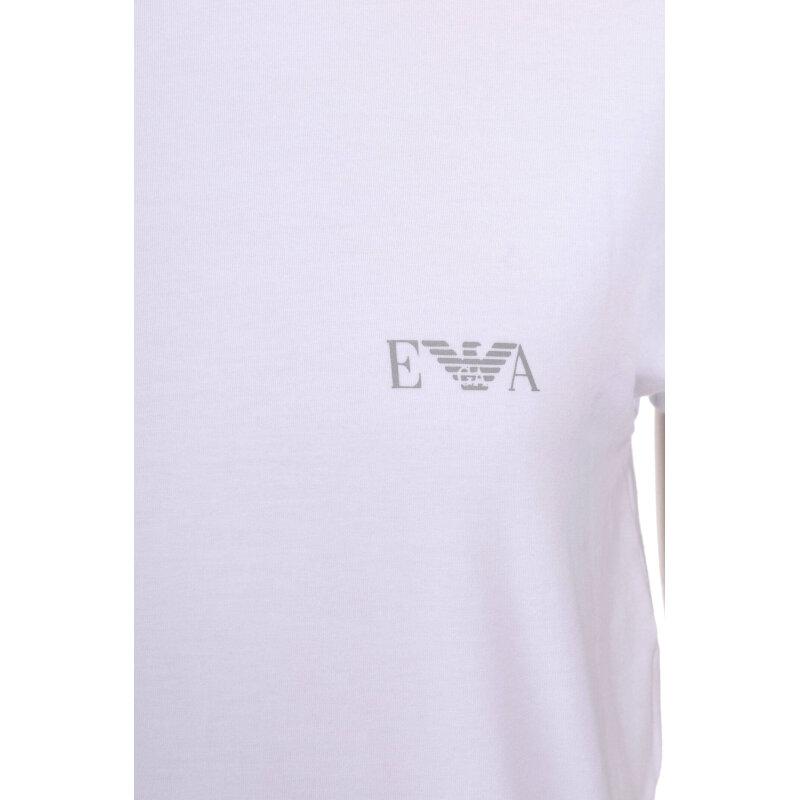 T-Shirt/Podkoszulek Emporio Armani biały
