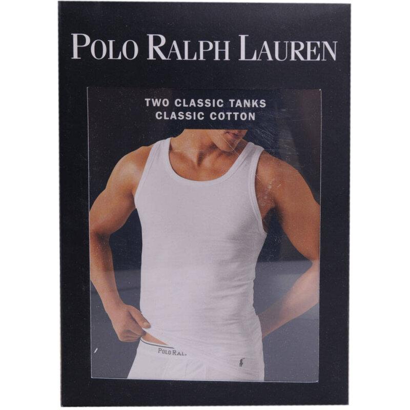 Podkoszulek 2 Pack Polo Ralph Lauren biały