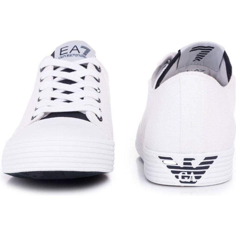 Tenisówki New Cult C Block U EA7 biały