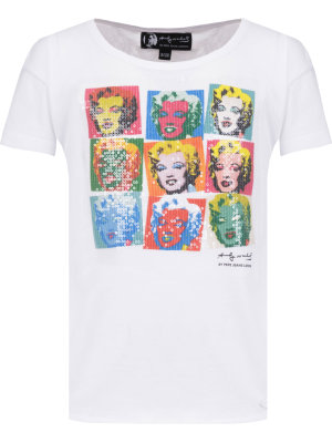 Pepe Jeans London T-shirt JENELL Andy Warhol By Pepe Jeans