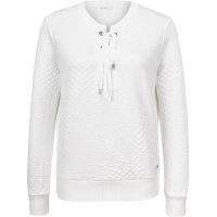 Bluza CLOUDS JACQUARD Guess Jeans biały