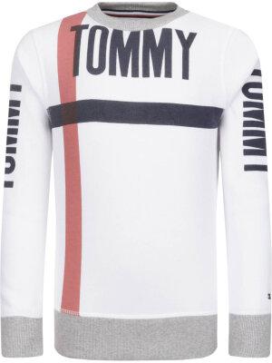Tommy Hilfiger Bluza BOLD TEXT CREW NECK | Regular Fit