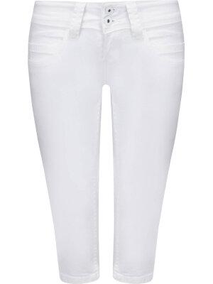 Pepe Jeans London Szorty Venus Crop | Slim Fit | low rise