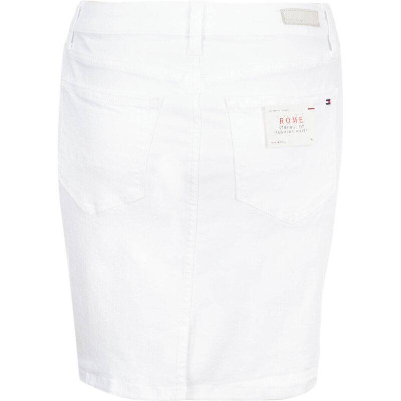 Spódnica Rome Tommy Hilfiger biały