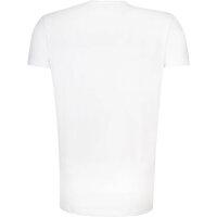 T-shirt Lacoste biały