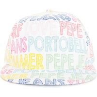 Tip baseball cap Pepe Jeans London white