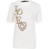 T-shirt Love Moschino biały