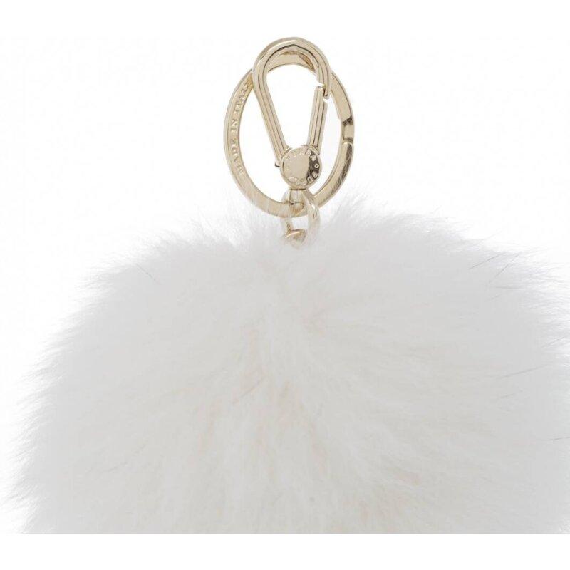 Brelok Bubble Furla biały