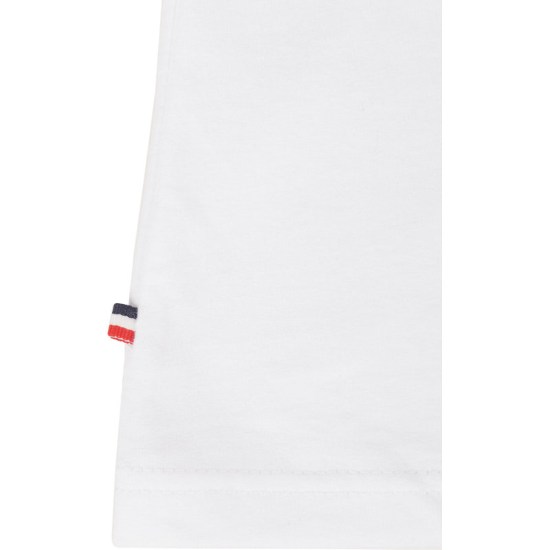 T-shirt THDM Basic VN Knit Hilfiger Denim biały