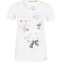 T-shirt Tashirt Boss Casual biały
