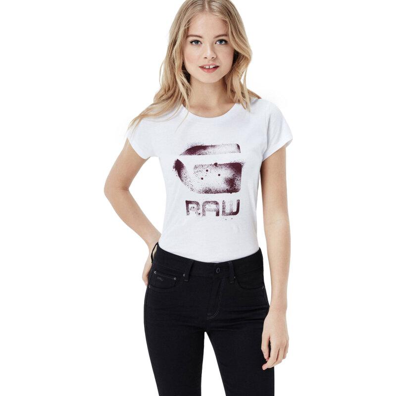 T-shirt Theagan G-Star Raw biały