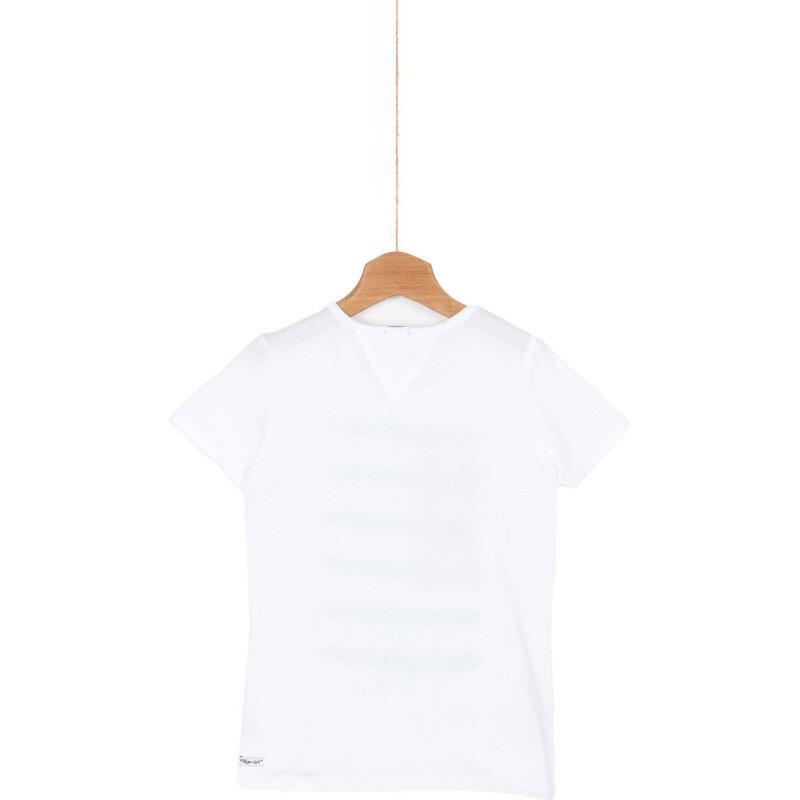T-shirt Shannon Tommy Hilfiger biały