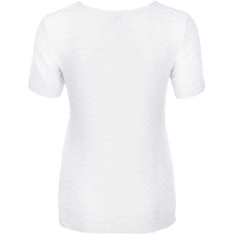 Bluzka Armani Collezioni biały