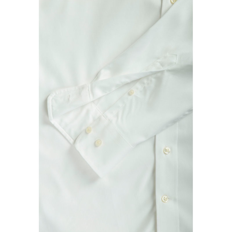 Pinpoint Oxford shirt Gant white