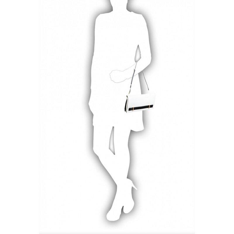Chelsey clutch Michael Kors white