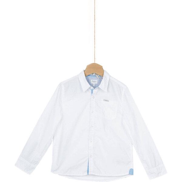 8347f59857bc1 Max Kids Shirt Pepe Jeans London   White   Gomez.pl en