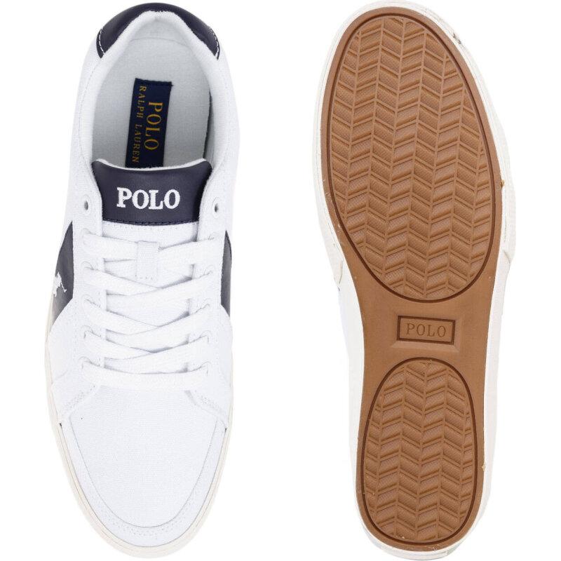 Tenisówki Hugh-Ne Polo Ralph Lauren biały