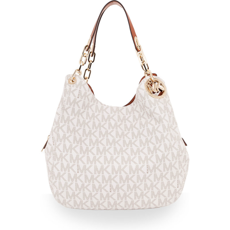 Fulton Hobo bag Michael Kors white