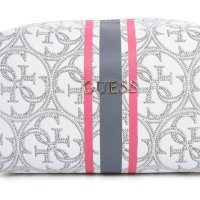 Heritage Sport Cosmetic bag Guess white